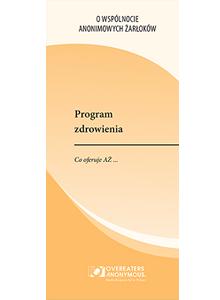 Program zdrowienia. Co oferuje AZ